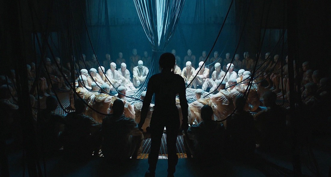 Filmstill of Ghost in the Shell - Prayer Room
